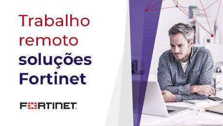Uma imagem com um homem, computador e oculos para artigo de digital work. Sobre soluções fortinet.
